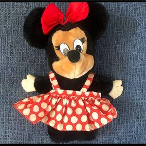 Vintage Minnie Mouse Puppet by Applause
